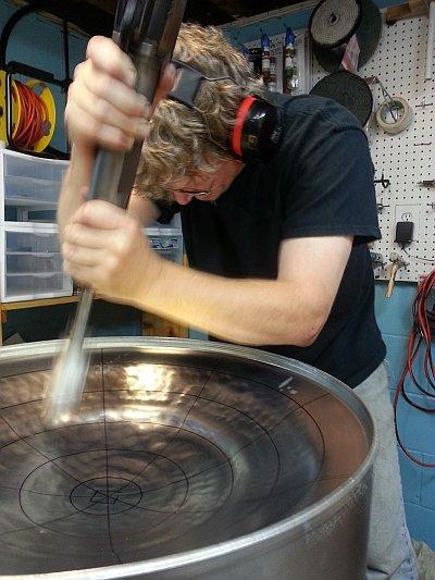 Sinking a Steeldrum